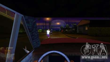 La primera persona a la v3.0 para GTA San Andreas sucesivamente de pantalla