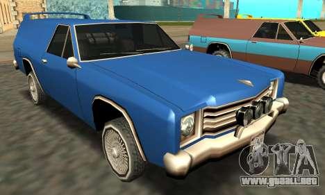Picador Vagon Extreme para las ruedas de GTA San Andreas
