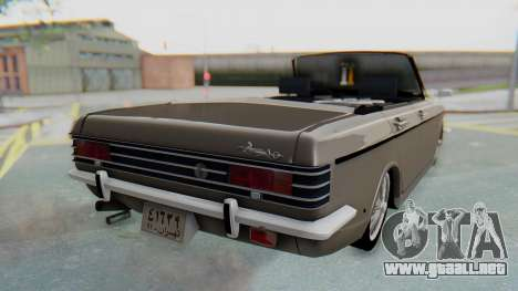 Peykan 80 Spyder para GTA San Andreas left