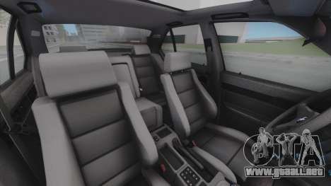 BMW M5 E34 para vista lateral GTA San Andreas