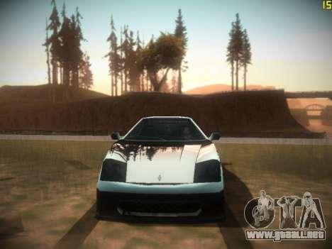Siguiente ENB V1.0 por medio de la PC para GTA San Andreas quinta pantalla