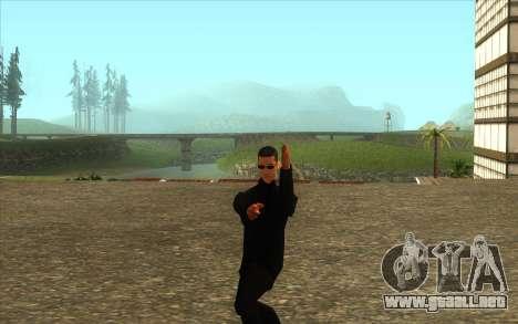 La Visita De Wu Zi Mu para GTA San Andreas tercera pantalla