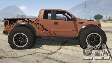 GTA 5 Ford Velociraptor 1500 hp vista lateral izquierda