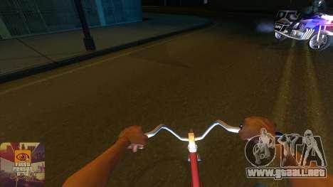 La primera persona a la v3.0 para GTA San Andreas quinta pantalla