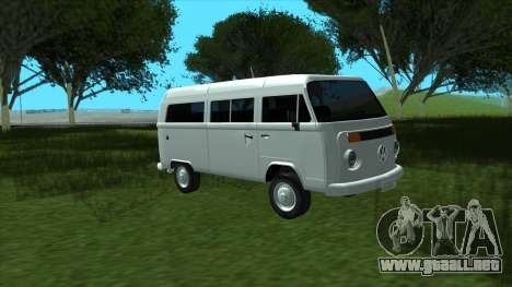 Volkswagen Kombi 2004 para la visión correcta GTA San Andreas