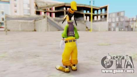 Kingdom Hearts 2 Goofy Default para GTA San Andreas tercera pantalla