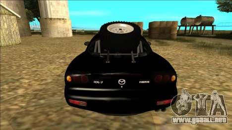 Mazda RX-7 Rusty Rebel para la visión correcta GTA San Andreas