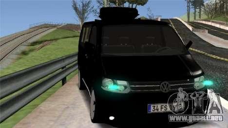 Volkswagen bus By.Snebes para GTA San Andreas left