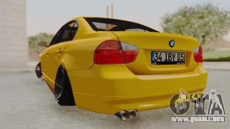 BMW M3 E90 para GTA San Andreas left