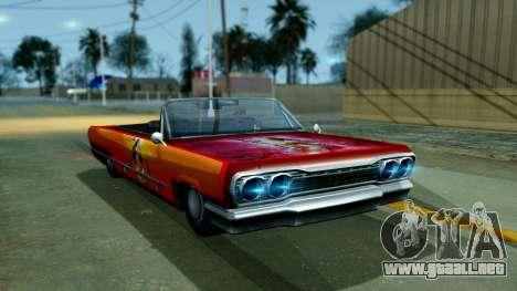 Savanna New PJ para GTA San Andreas left