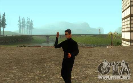 La Visita De Wu Zi Mu para GTA San Andreas segunda pantalla