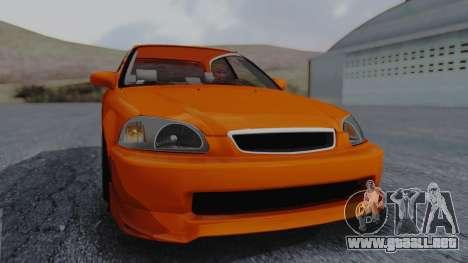Honda Civic EG Ferio para la visión correcta GTA San Andreas
