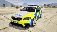 2014 Police Skoda Octavia VRS Hatchback
