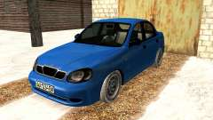 Daewoo Lanos 2001 Winter para GTA San Andreas