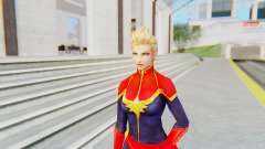 Marvel Future Fight - Captain Marvel para GTA San Andreas