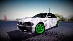 BMW M3 E46 Drift Monster Energy