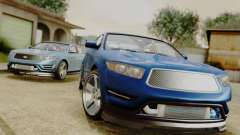 GTA 5 Vapid Greenwood para GTA San Andreas
