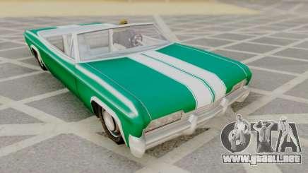 Blade F&F3 Mustang PJ para GTA San Andreas