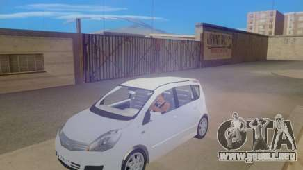 Nissan Note v1.0 Final para GTA San Andreas
