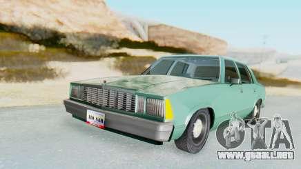Chevrolet Malibu 1981 Twin Turbo para GTA San Andreas