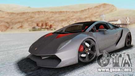 Lamborghini Sesto Elemento 2010 para GTA San Andreas