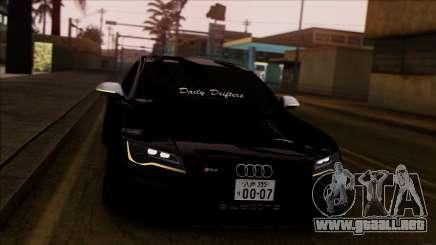 Audi RS7 Daily Drifters para GTA San Andreas