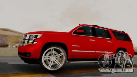 Chevrolet Suburban 2015 LTZ para GTA San Andreas