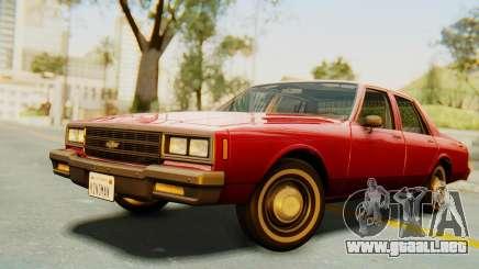 Chevrolet Impala 1984 para GTA San Andreas
