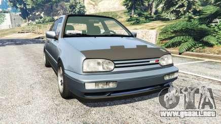 Volkswagen Golf Mk3 VR6 1998 Highline DTD v1.0a para GTA 5