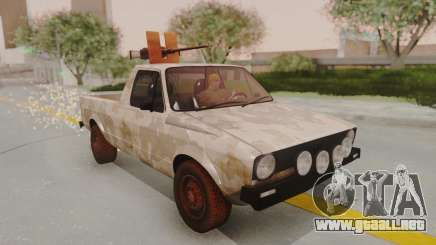 Volkswagen Caddy Military Vehicle para GTA San Andreas