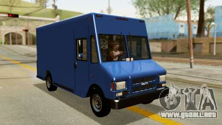 Boxville from GTA 5 para GTA San Andreas