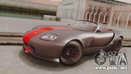 GTA 5 Bravado Banshee 900R Carbon IVF para GTA San Andreas