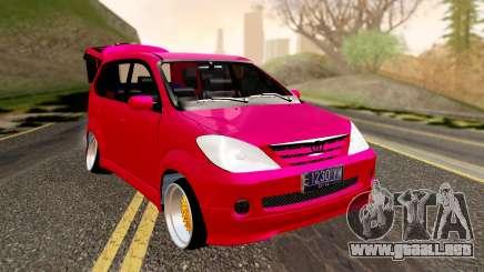 Toyota Avanza Best Modification para GTA San Andreas
