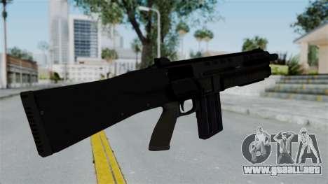 GTA 5 Assault Shotgun para GTA San Andreas tercera pantalla