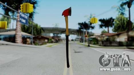 No More Room in Hell - Fire Axe para GTA San Andreas segunda pantalla