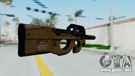 P90 Sand Frame para GTA San Andreas segunda pantalla