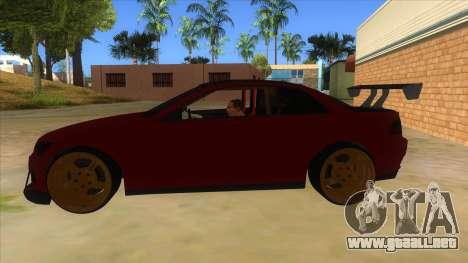 GTA V Sentinel RS MKII para GTA San Andreas left