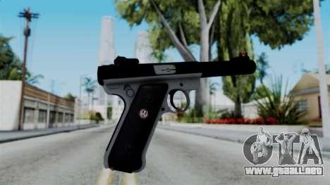 No More Room in Hell - Ruger Mark III para GTA San Andreas segunda pantalla