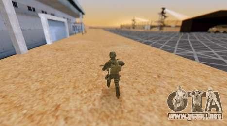 Ejército hora para GTA San Andreas