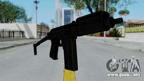 9A-91 Ironsight para GTA San Andreas segunda pantalla