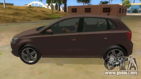 Volkswagen Polo 6R 1.4 para GTA San Andreas left