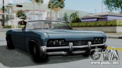 Blade Beach Bug para GTA San Andreas vista posterior izquierda