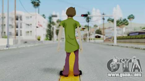 Scooby Doo Salcisha-Shaggy para GTA San Andreas tercera pantalla