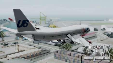 GTA 5 Jumbo Jet v1.0 FlyUS para GTA San Andreas left