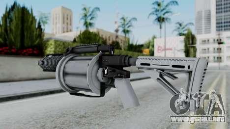 GTA 5 Grenade Launcher - Misterix 4 Weapons para GTA San Andreas segunda pantalla