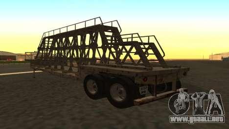 El trailer de los paneles para GTA San Andreas left