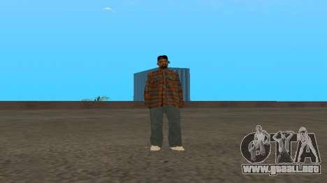 Skin FAM3 para GTA San Andreas tercera pantalla