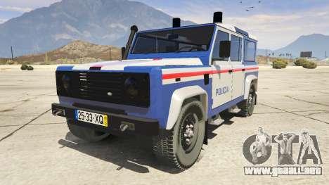 Land Rover Defender para GTA 5