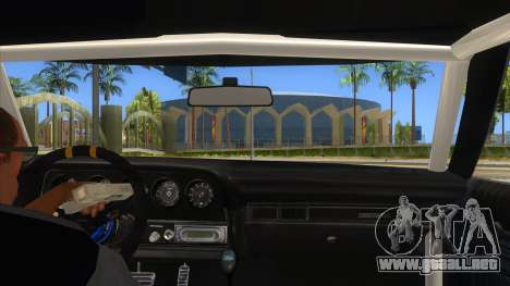 Ford Gran Torino Drag para visión interna GTA San Andreas