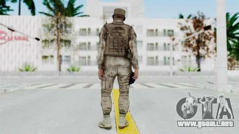 Crysis 2 US Soldier 3 Bodygroup A para GTA San Andreas tercera pantalla
